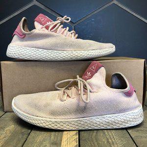 W Adidas Pharrell Tennis Human Race Icey Pink Sz 9